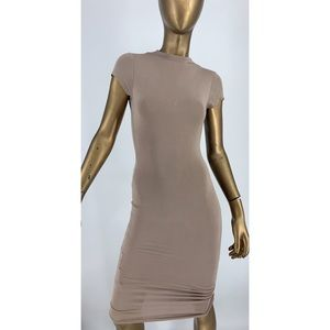 PERFECT FOR FALL! Midi Dress by Naked Wardrobe